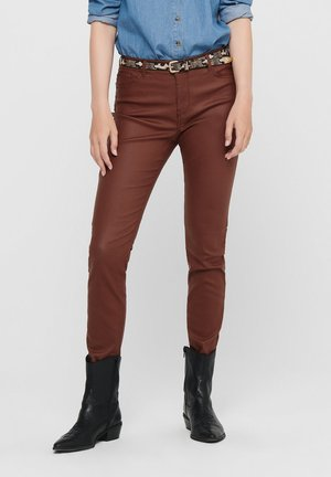NEW THUNDER - Jeans Skinny Fit - cherry mahogany