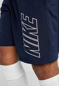 Nike Performance - DRY ACADEMY SHORT - Pantalón corto de deporte - obsidian/white - 4