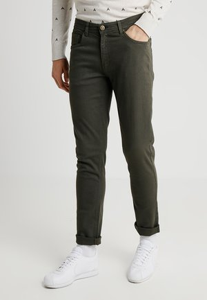 BASIC STRETCH - Slim fit jeans - olive
