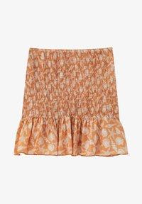 PULL&BEAR - A-line skirt - orange - 5