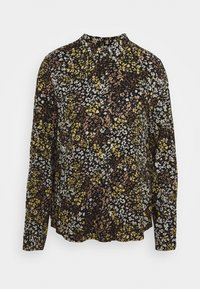 ICHI - IHBETTA - Button-down blouse - black - 0
