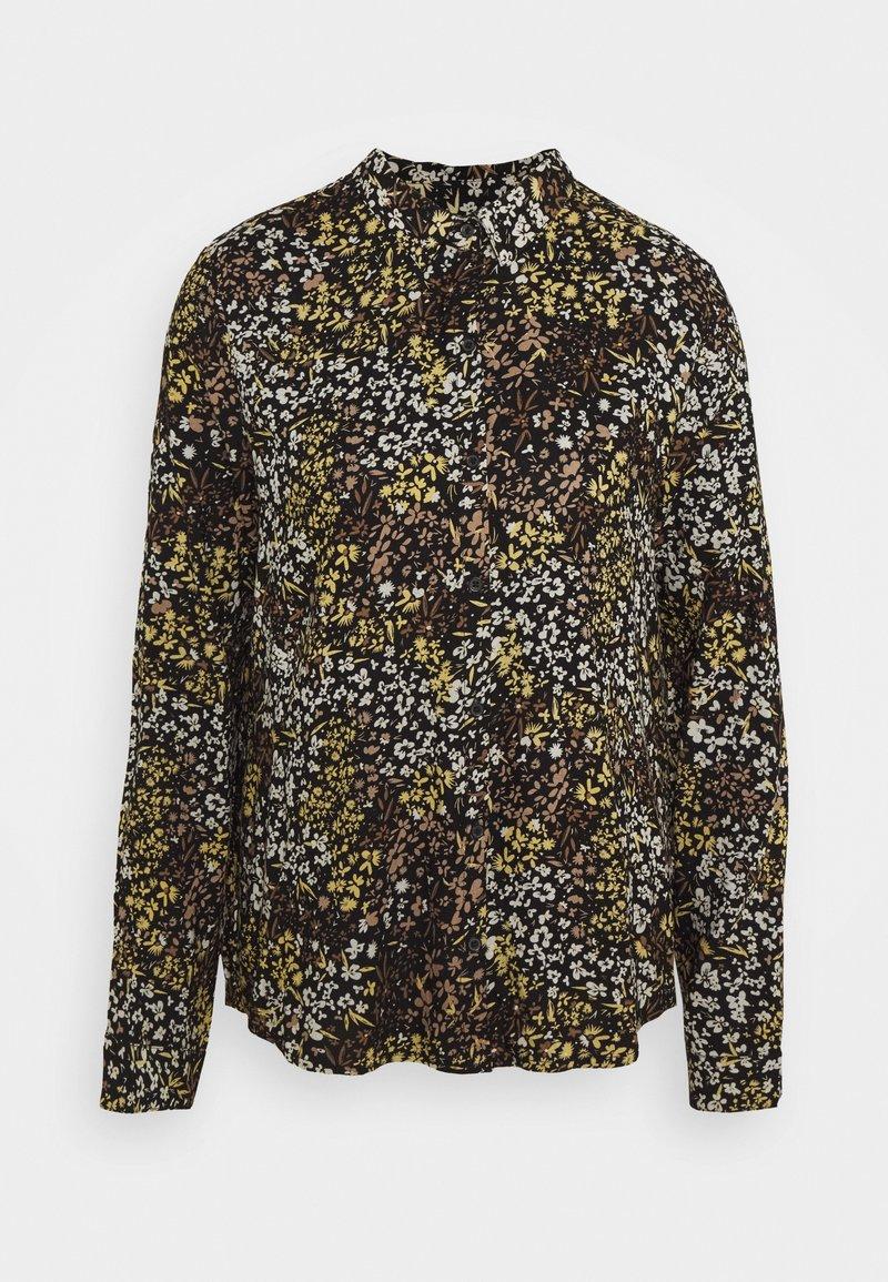 ICHI - IHBETTA - Button-down blouse - black