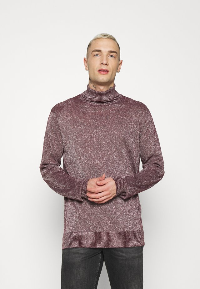 HULMEC - Pullover - burgundy