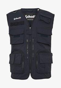 Schott - ROY X - Waistcoat - black - 0