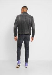 Nudie Jeans - JERRY - Denim jacket - black midnight - 2