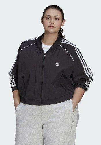 SHORT TT - Training jacket - black