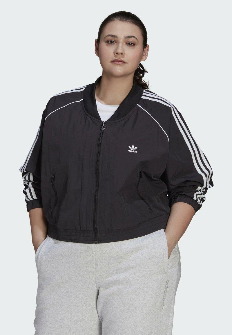 adidas Originals - SHORT TT - Training jacket - black