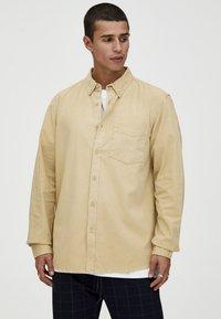 PULL&BEAR - MIT LANGEN ÄRMELN - Shirt - brown - 4