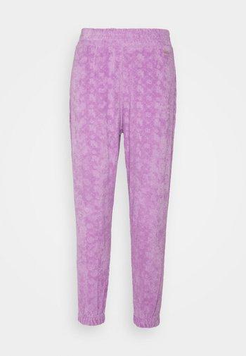 Tracksuit bottoms - purple light