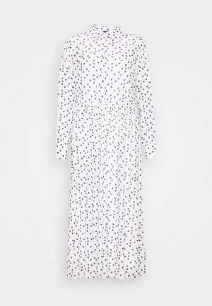 THORA ALASKA DRESS - Shirt dress - white