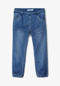 Name it - BAGGY FIT - Relaxed fit jeans - medium blue denim - 3