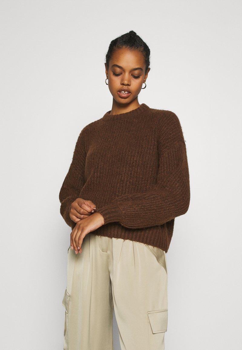 Even&Odd - Jumper - brown