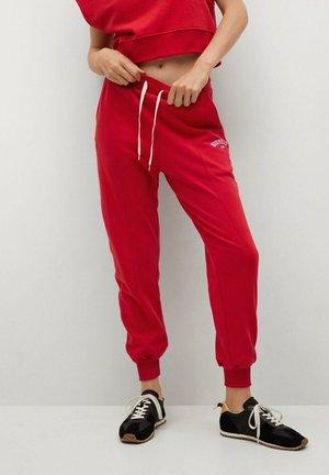 Spodnie treningowe - rouge