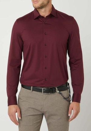 SLIM FIT - Shirt - bordeaux rot