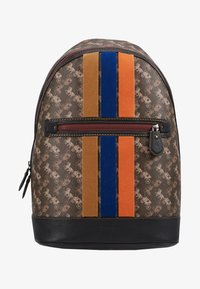 Coach - BARROW BACKPACK IN HORSE AND CARRIAGE  - Reppu - black/brown - 6