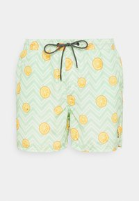 Jack & Jones - JJIBALI JJSWIMSHORTS FRUIT - Zwemshorts - green ash - 0