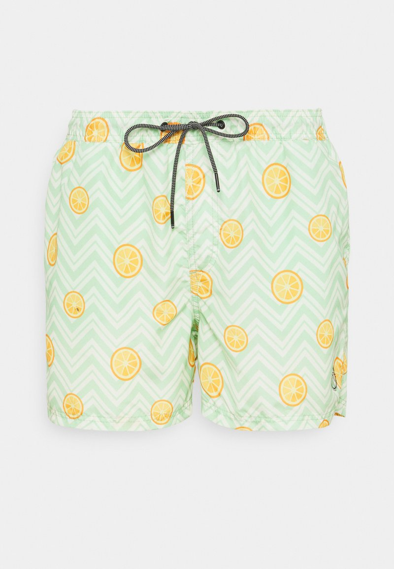 Jack & Jones - JJIBALI JJSWIMSHORTS FRUIT - Zwemshorts - green ash