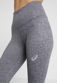 ASICS - HIGH WAIST TIGHT 2 - Leggings - mid grey heather/dark grey heather - 4