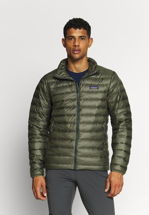 Down jacket - industrial green