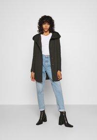 ONLY - ONLSEDONA - Krátký kabát - rosin melange - 1
