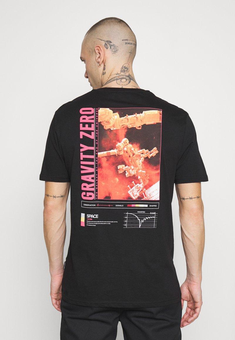 YOURTURN - T-shirt imprimé -  black