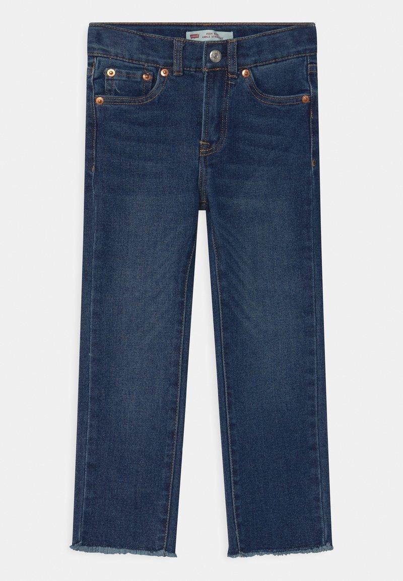 Levi's® - HIGH RISE ANKLE STRAIGHT - Jeans Straight Leg - blue denim
