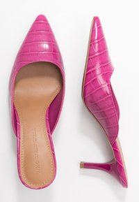 Who What Wear - JUNE - Mules à talons - magenta - 3