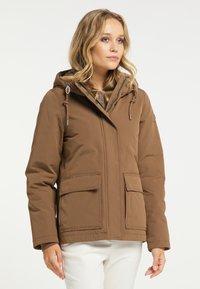 DreiMaster - Winter jacket - dunkelbeige - 0