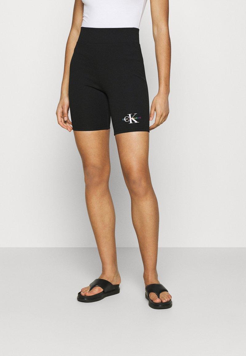 Calvin Klein Jeans - PRIDE CYCLING - Shorts - black