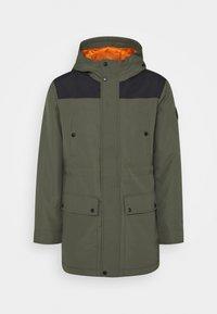 Only & Sons - ONSPETER TECHINCAL - Winter coat - deep depths/black - 4