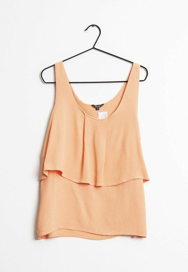 Top - orange