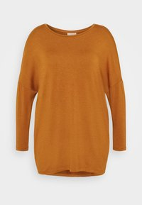 ONLY Carmakoma - CARCARMA LONG - Long sleeved top - glazed ginger - 0