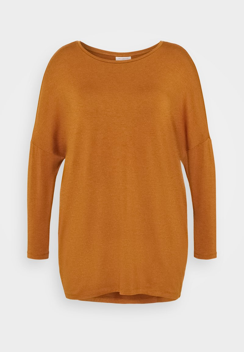 ONLY Carmakoma - CARCARMA LONG - Long sleeved top - glazed ginger