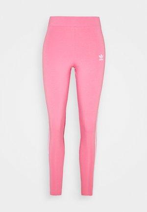 STRIPES COMPRESSION - Leggings - Trousers - rose tone