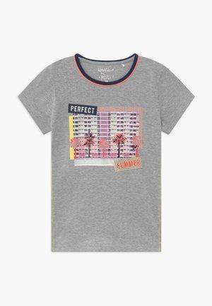 TEENAGER - Print T-shirt - grey/orange