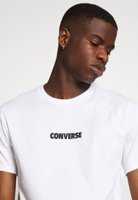 Converse - ALL STAR  ARCHIVE TEE - T-shirt con stampa - white - 4