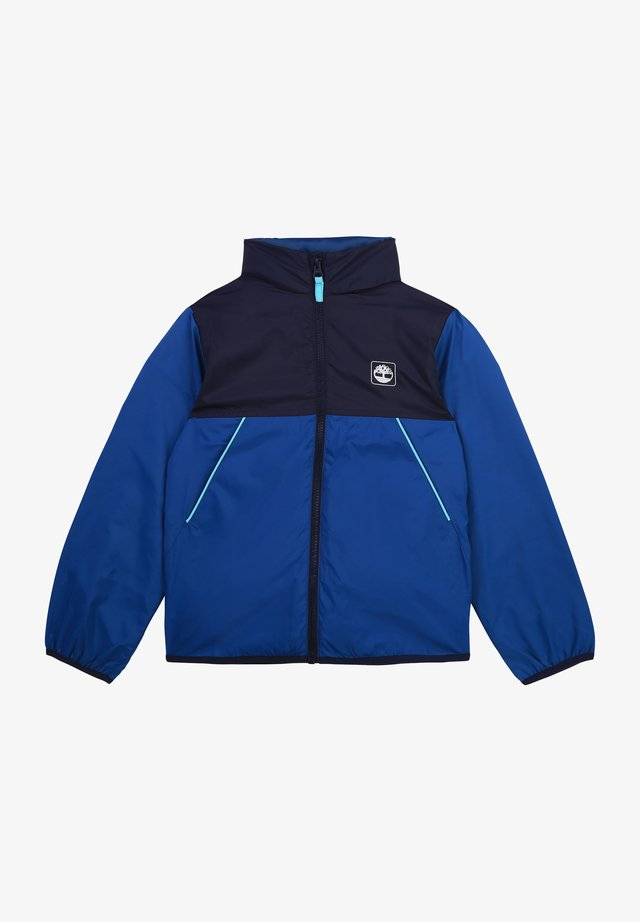 Windbreaker - bleu mosaique