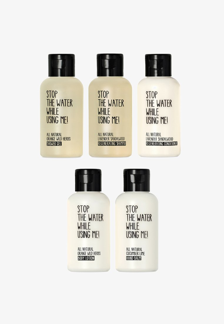 STOP THE WATER WHILE USING ME! - TRAVEL KIT  60ML 5 PACK - Bath and body set - neutral