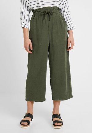 ROPE CASUAL TROUSERS - Kalhoty - khaki