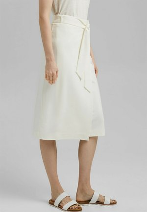 Wrap skirt - off white