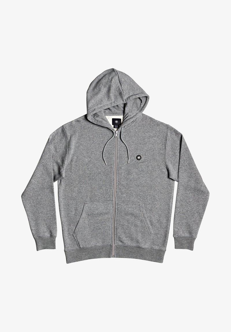 DC Shoes - Zip-up sweatshirt - medium grey heather