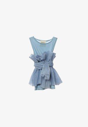 DOUUOD KIDS - T-shirt basic - celeste