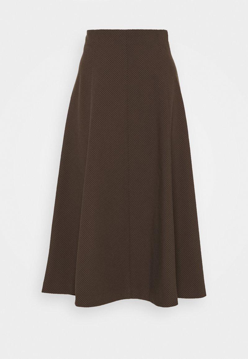 b.young - EVI SKIRT  - A-line skirt - chicory coffee mix