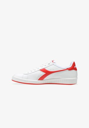 GAME UNISEX - Trainers - bianco\rosso