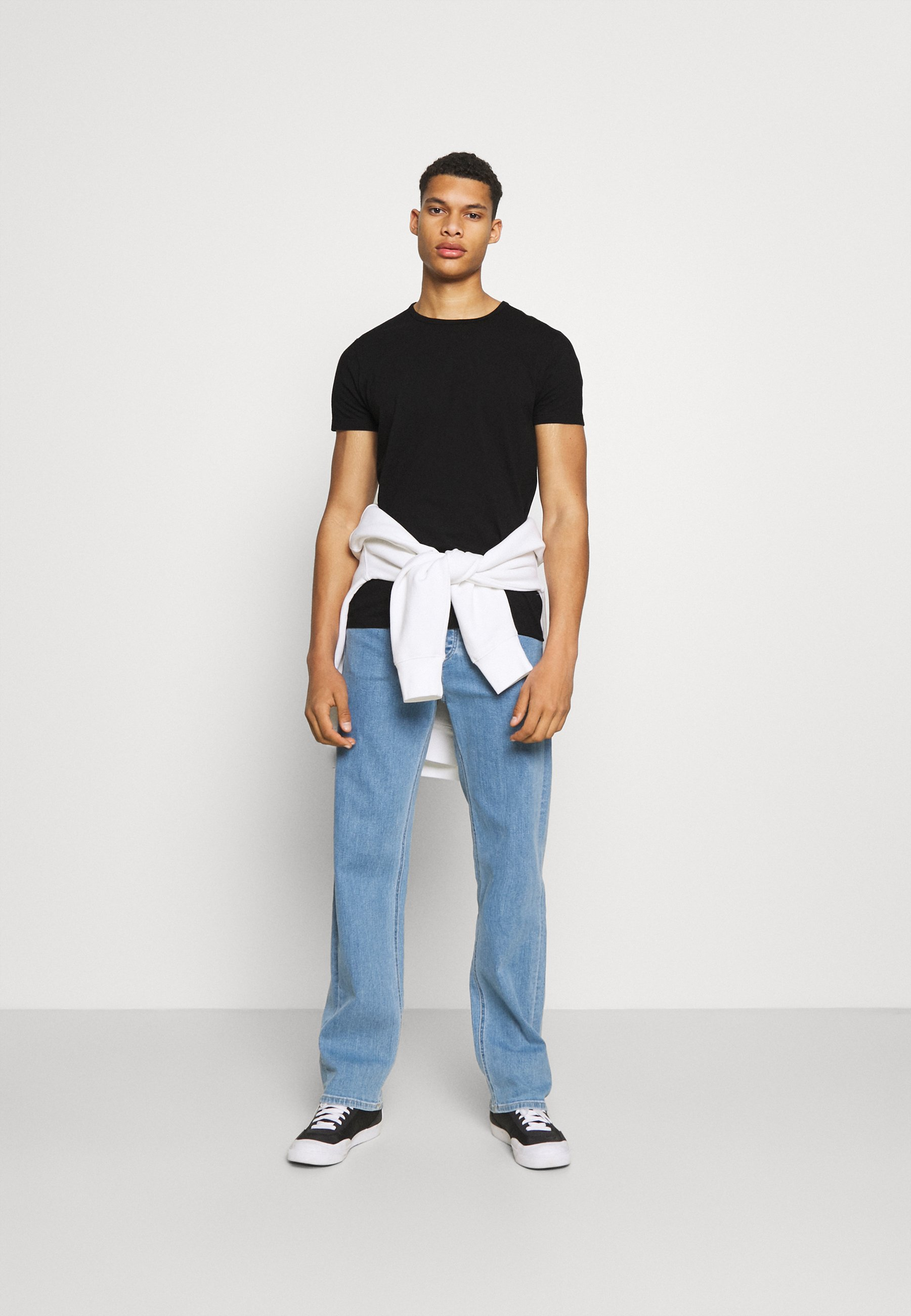 Men DOUBLE TEE UNISEX 2 PACK - Print T-shirt
