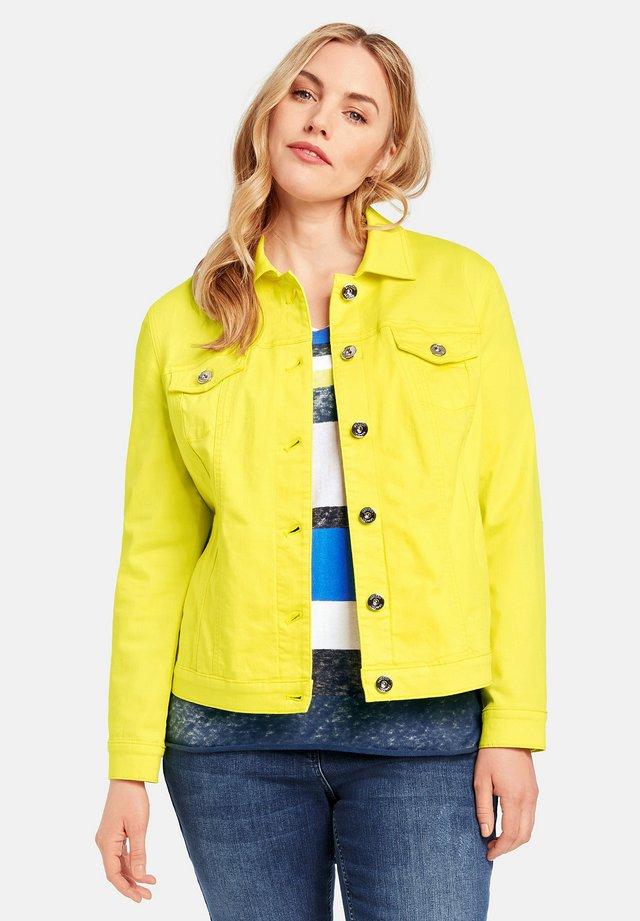 Denim jacket - lime light