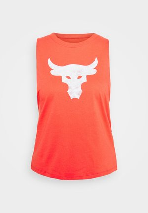 PROJECT ROCK BULL TANK - Top - red
