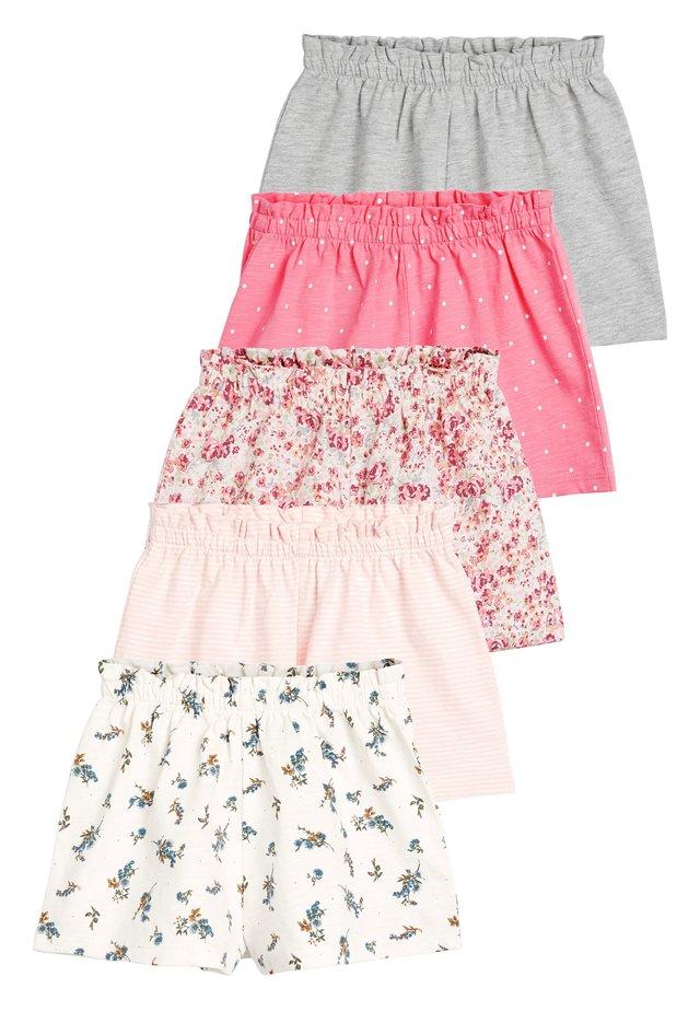 PINK 5 PACK SHORTS (3MTHS-7YRS) - Shorts - pink