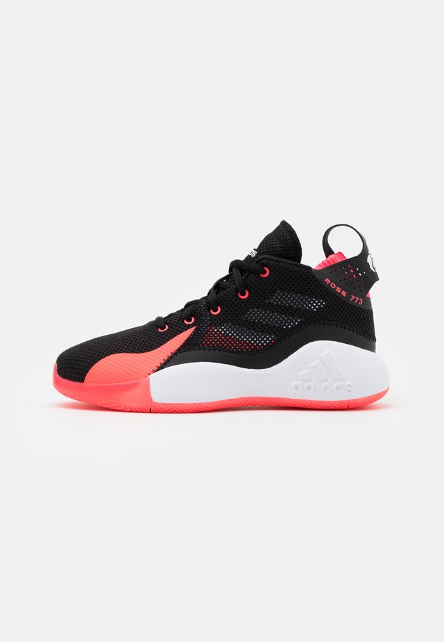 ROSE BOUNCE SPORTS BASKETBALL SHOES UNISEX - Chaussures de basket - core black/footwear white/signal pink