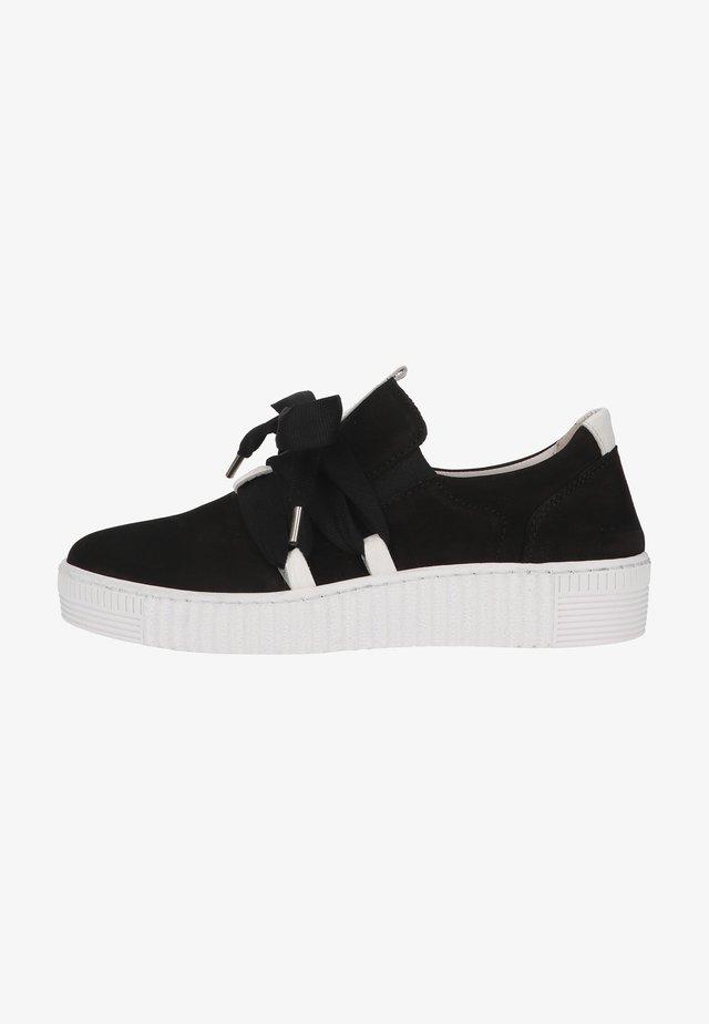 Sneaker low - schwarz/weiss(ice)